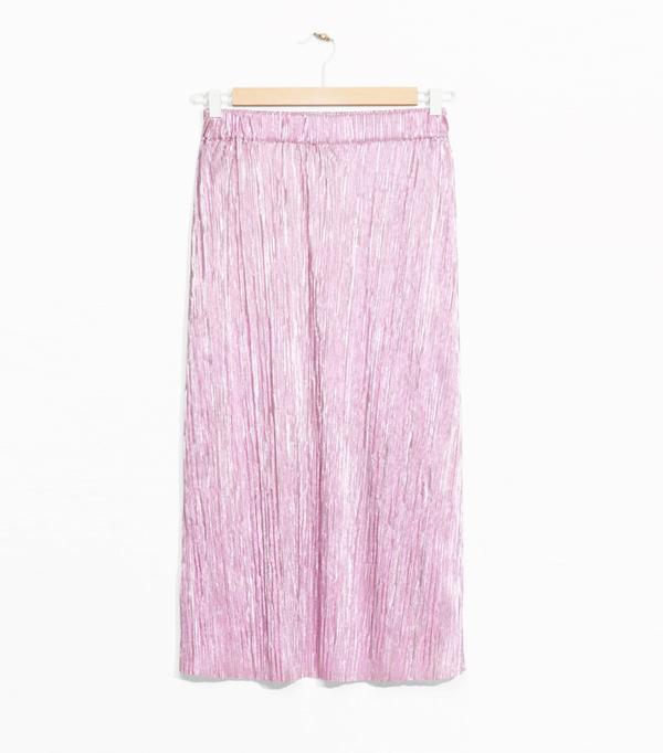 High Street Shopping Picks: & Other Stories pink skirt