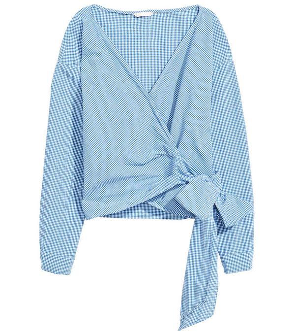 High Street Shopping Picks: H&M Wrapover Blouse