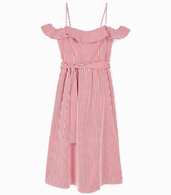 High Street Shopping Picks: Mango Off-Shoulder Dress