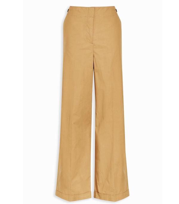 High Street Shopping Picks: Next Wide Leg Cotton Trousers