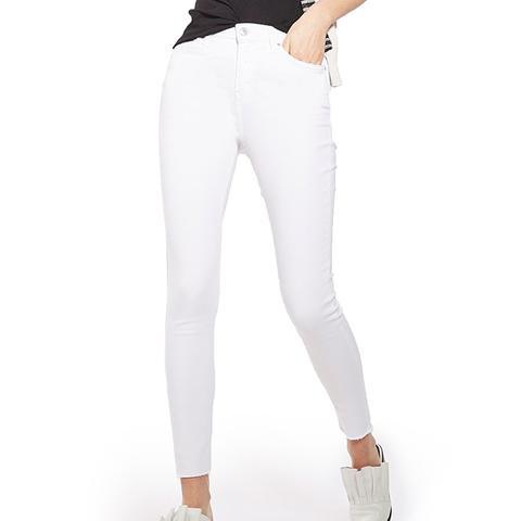 Jamie Raw Hem Skinny Jeans