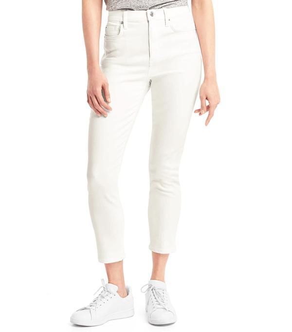 Gap Super High-Rise True Skinny Crop Jeans