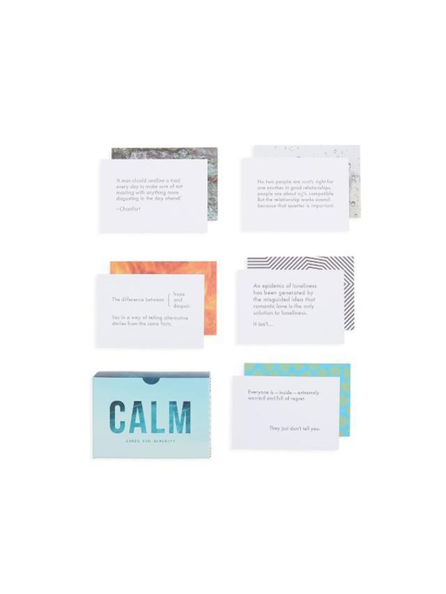 Calm Prompt Cards - Goop Nordstrom Pop-In