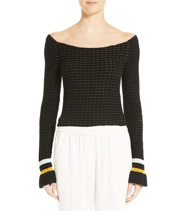 3.1 Phillip Lim Off-the-Shoulder Sweater
