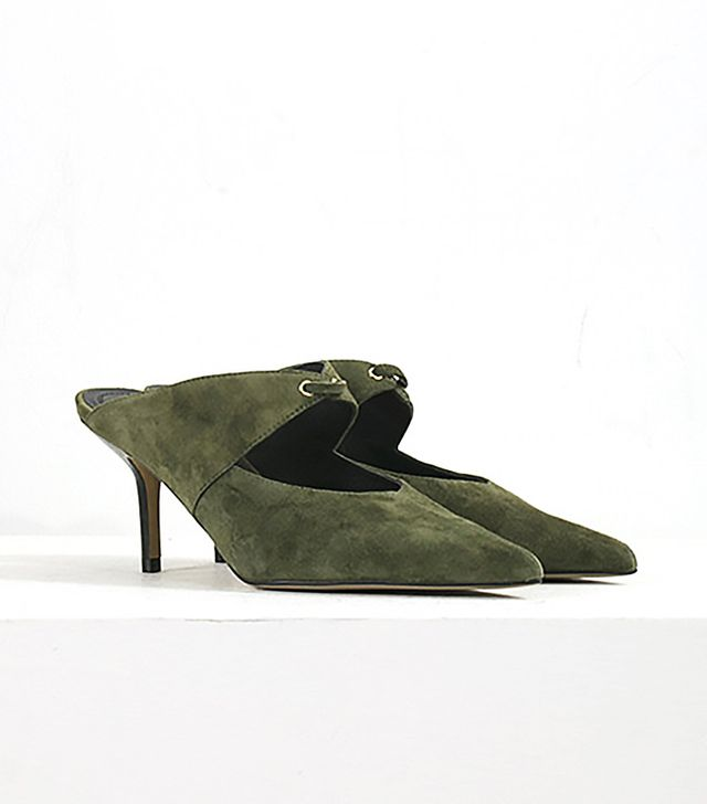 Genuine People Suede Pointed Heeled Shoes