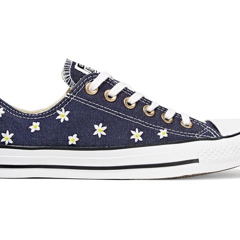 Chuck Taylor All Star Embroidered Denim Sneakers