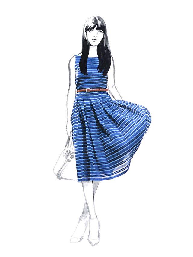 Tommy Hilfiger - stripe dress