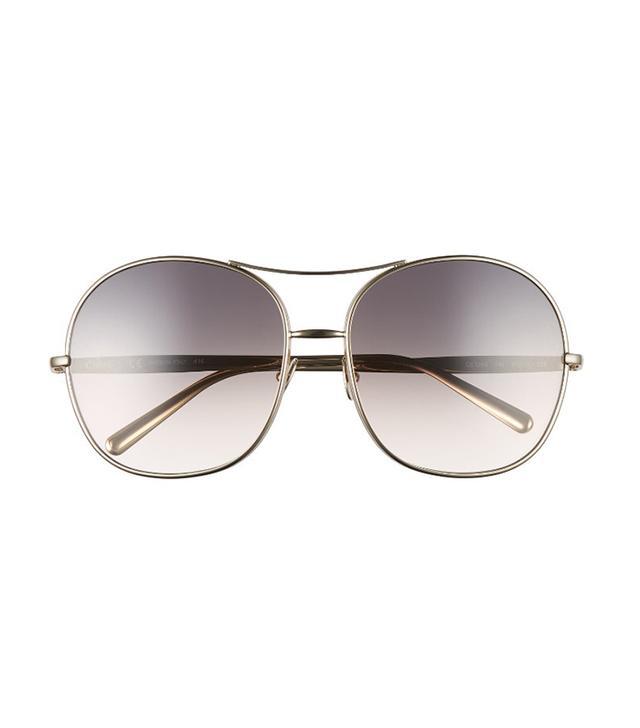 Chloé Oversize Aviator Sunglasses