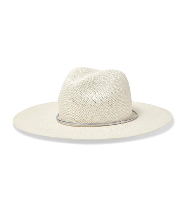 Janessa Leone Annie Straw Panama Hat