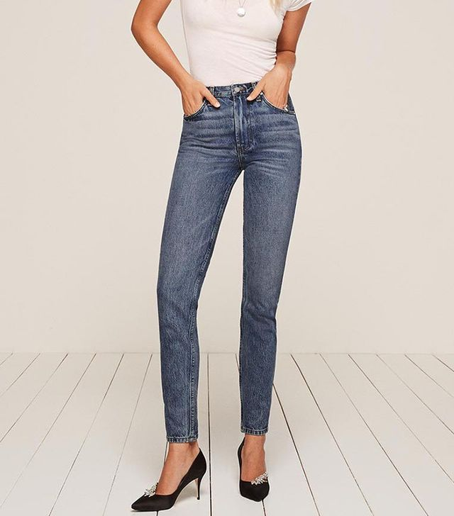 jean styles - Reformation High Cigarette Jeans
