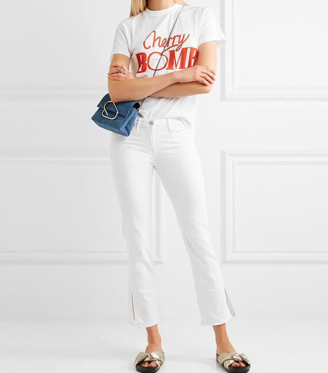 jean styles -  3x1 W2 Split Bell Crop Jeans