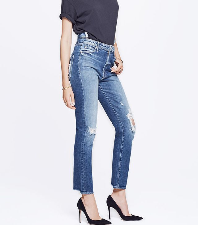 jean styles - Mother Dazzler Shift Jeans