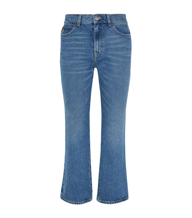 jean styles - Attico Cropped Jeans