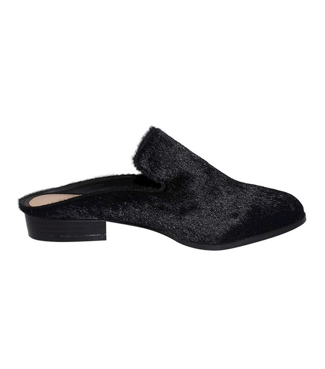 shoe trend - Who What Wear Faith Faux Pony Hair Flat Mules