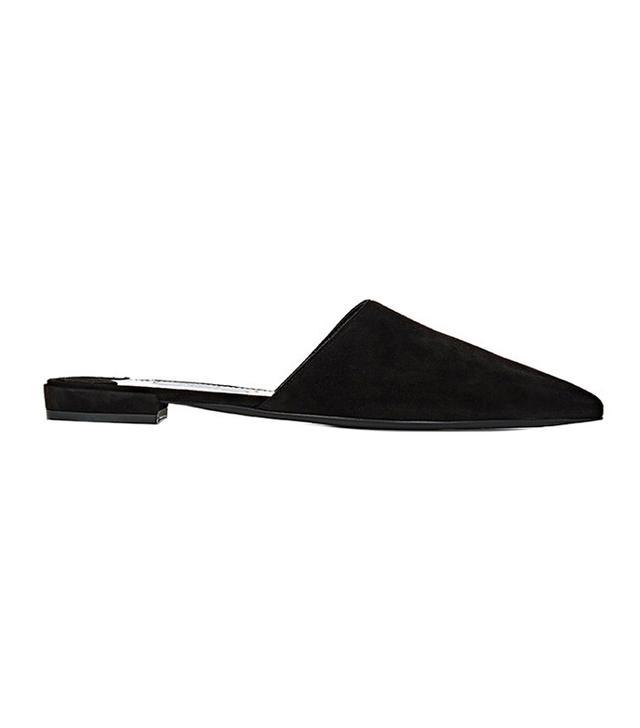 shoe trend - Prada Suede Mules