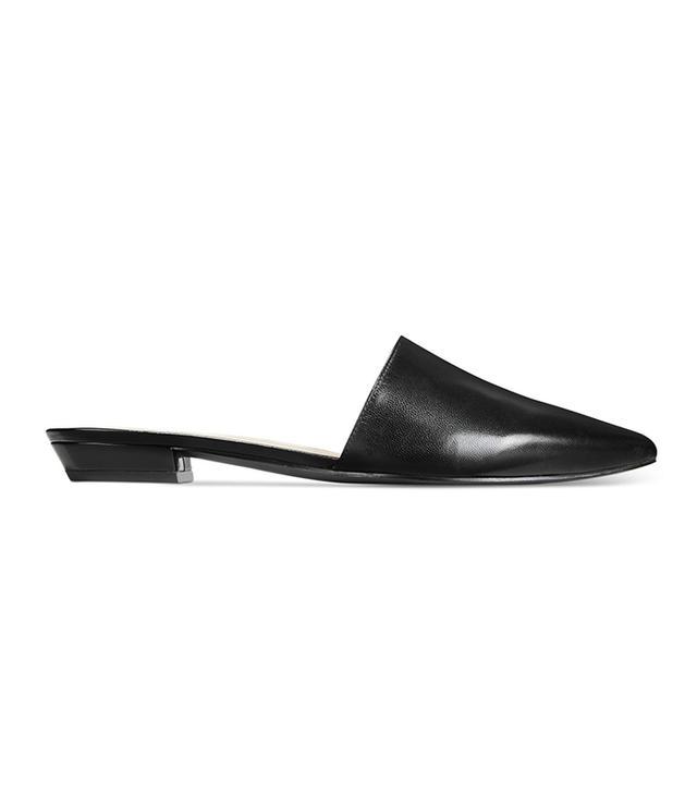 shoe trend - Nine West Trey Leather Slides