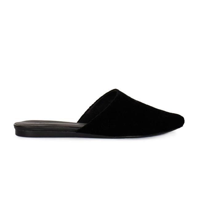 shoe trend - Joie Adiel Velvet Slides