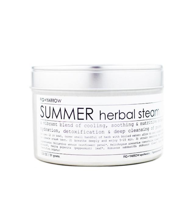 Fig and Yarrow Summer Herbal Steam