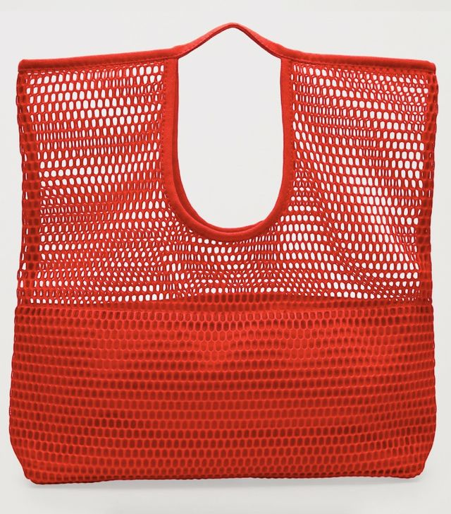 Cos Mesh Market Bag