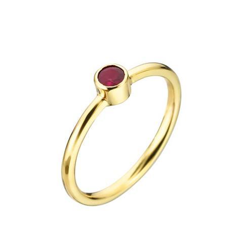 Jane Ruby Gold Ring