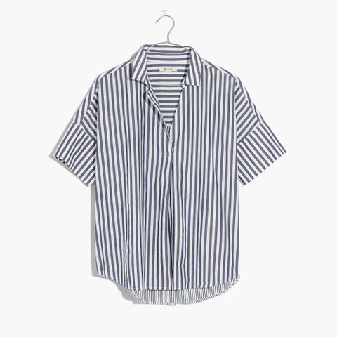 Courier Shirt in Stripe Mix