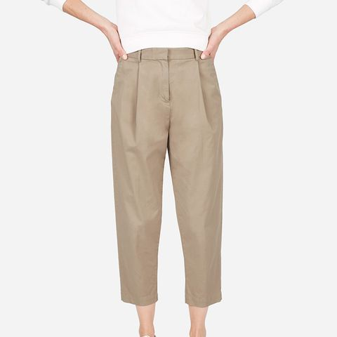 The Slouchy Chino Pant in Khaki