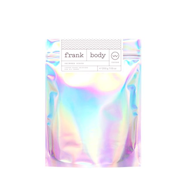 Frank Body Shimmer Scrub - how to get glowing skin