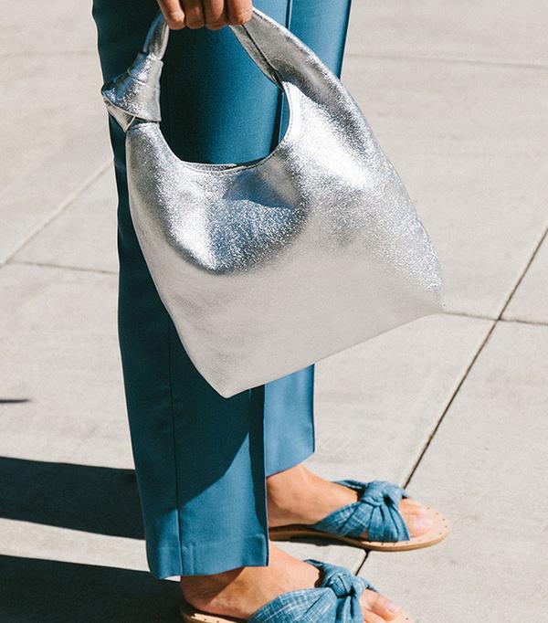best silver handbag