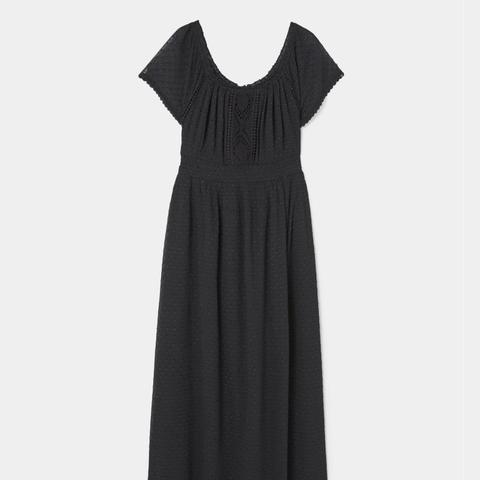 Plumeti Long Dress