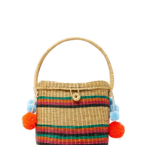 Cinto Striped Tote