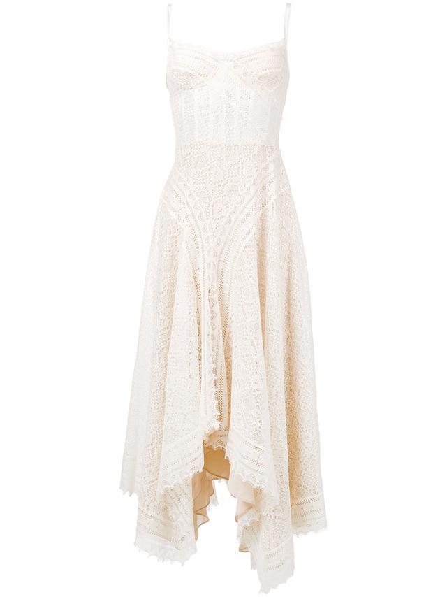 Alexander McQueen Crochet Lace Dress