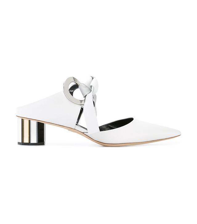 Proenza Schouler Mirrored-Heel Mules