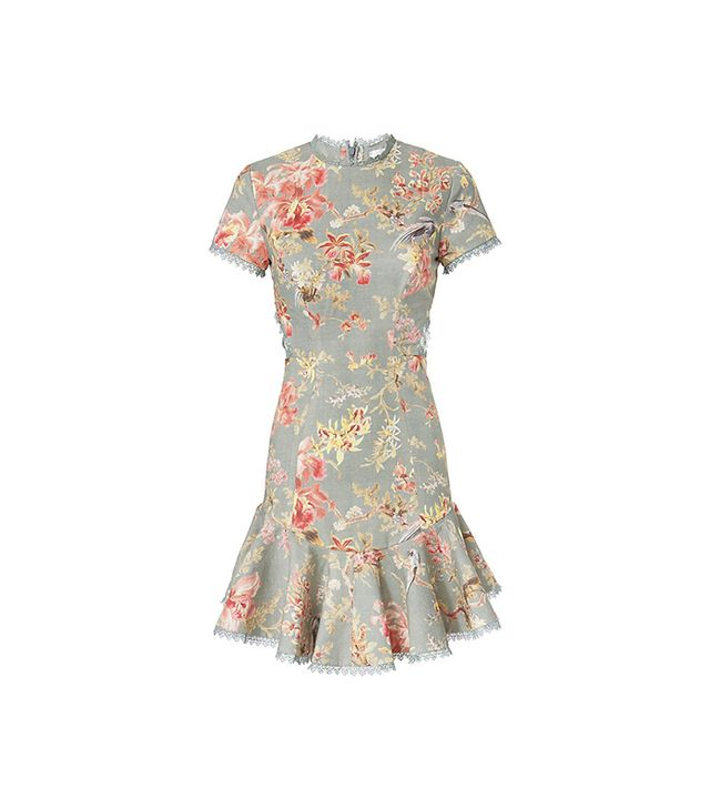 Zimmermann Mercer Flutter Floral Dress