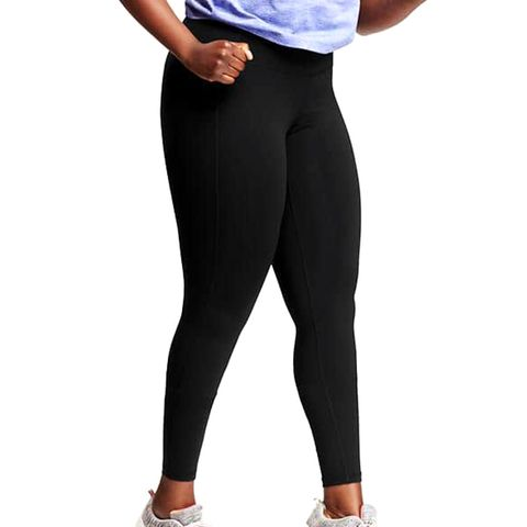 High-Rise Plus-Size Compression Leggings