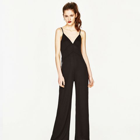Long Jumpsuit with Cords