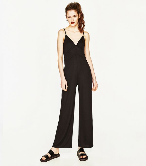 Zara Long Jumpsuit with Cords