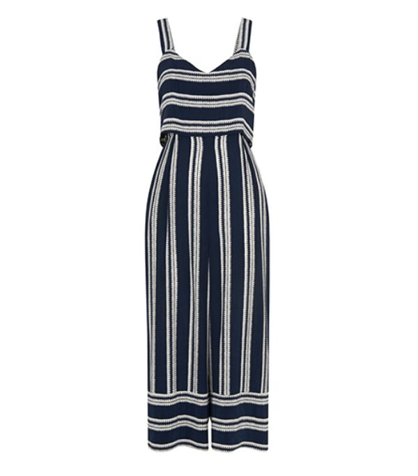 Whistles Lucy Stripe Jumpsuit