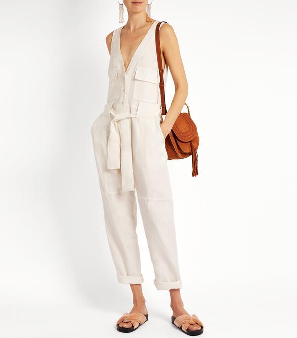 Rachel Comey First Mate's Suit silk-blend jumpsuit