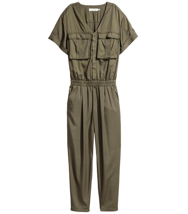 H&M Lyocell-Blend Jumpsuit