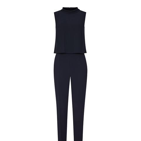 Flavia Double-Layer Jumpsuit
