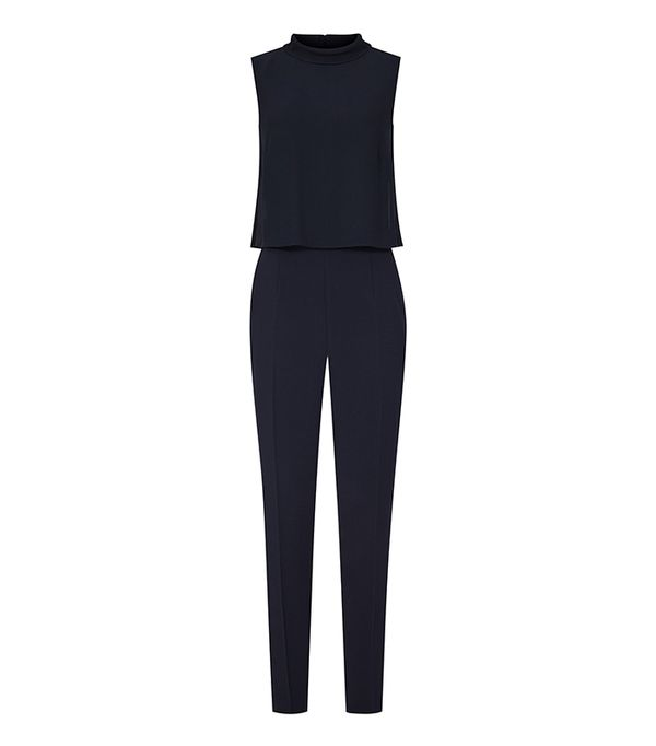 Reiss Flavia Double-Layer Jumpsuit