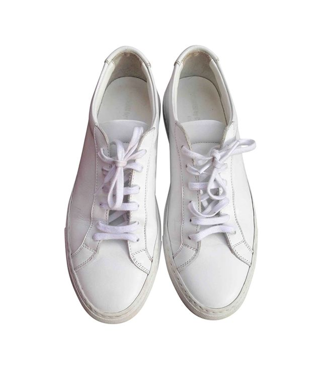 Leather Trainers by Common Projects