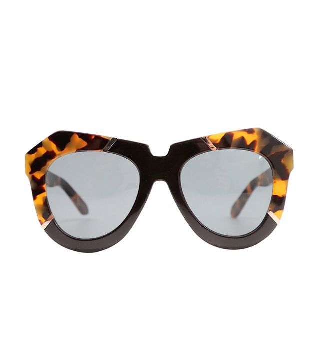 Karen Walker Oversized Sunglasses