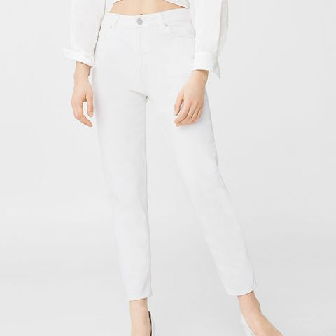 Relaxed Cropped Mom Jean