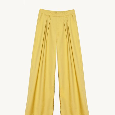 Mustard Wide Leg Pants
