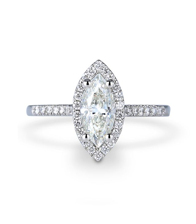 Forevermark Halo Marquise Ring