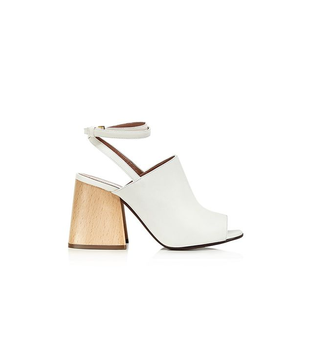 Marni Ankle Strap Block Heel Sandals