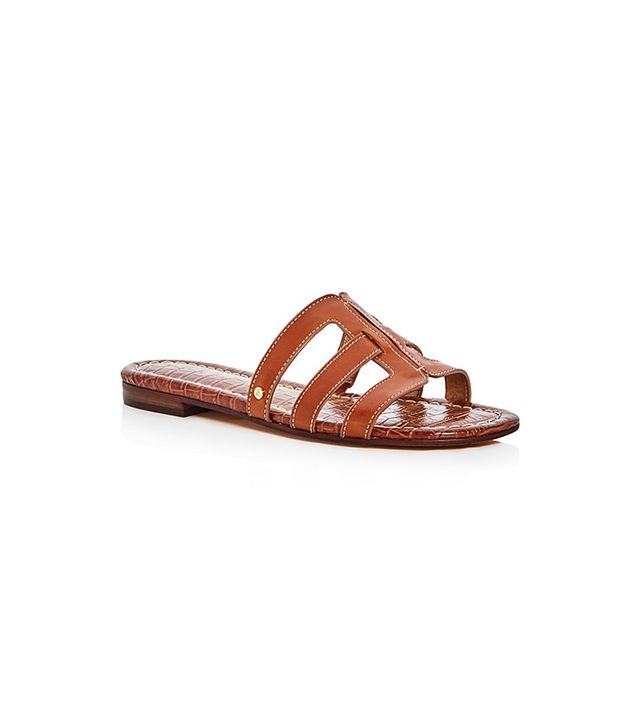 Sam Edelman Berit Leather Slide Sandals