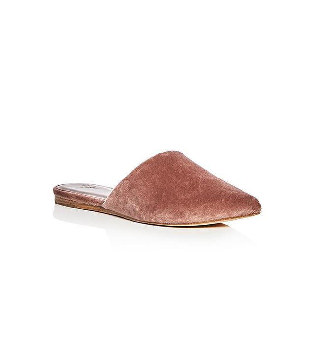 Joie Adiel Velvet Pointed Toe Mules