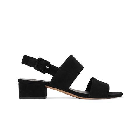 Taye Suede Slingback Sandals